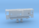 Z Scale B&O Wagontop Cab in Frosted Extreme Detail