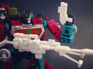 RTS Deluxe Perceptor Accessories in White Strong & Flexible Polished