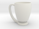 Floating Cup in White Strong & Flexible