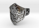 Hylian Shield [Size 10] in Polished Silver