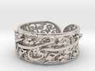 Khayam-S1-Ring-Size1175 Ring Size 11.75 in Rhodium Plated