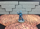 Dominion Sergeant (28mm scale) in White Strong & Flexible Polished