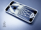 wings iphone 5 case  in White Strong & Flexible Polished