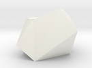 Poly Plant L in White Strong & Flexible Polished
