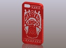 iPhone5_The Chinese Style--Traditional Opera 04 in Red Strong & Flexible Polished