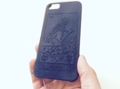 Customizable iphone 6 Blank Case in Black Strong & Flexible