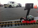 Train-lapse rig for GoPro in White Strong & Flexible