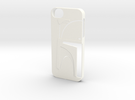 Bounty Hunter Iphone 5 Case V2 in White Strong & Flexible Polished