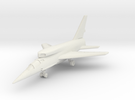 North American F-107 (with Landing Gear) 6mm 1/285 in White Strong & Flexible