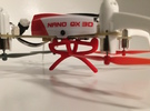 Blade Nano Qx 3d Frame support in Red Strong & Flexible Polished