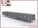 YCA Halibut - N Scale in Frosted Ultra Detail