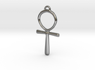 ANKH in Polished Silver