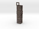 Totem Keychain in Stainless Steel