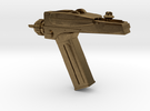 Star Trek Phaser Keychain in Raw Bronze