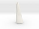 Organic Vase 3.0 (Small) - Ceramic in Gloss White Porcelain