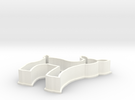 Fawn cookie cutter in White Strong & Flexible Polished