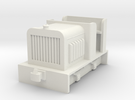 009 small diesel loco 2 ( open cab)   in White Strong & Flexible