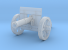 28mm Light fantasy cannon with shield in Frosted Ultra Detail