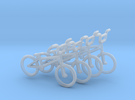 OO (1:76) BMX Bikes 4 pack in Frosted Ultra Detail