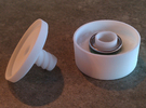 *ring holder The Ringmaster Solid in White Strong & Flexible
