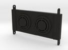 Axial RR10 Bomber Radiator in Black Strong & Flexible