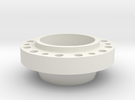 Wheel Hub for AR eGyro in White Strong & Flexible