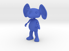 Tiny Elephant in Blue Strong & Flexible Polished