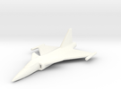 1/400 Saab JAS 39 Gripen in White Strong & Flexible Polished