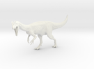 Dinosaur Dilophosaurus 1:35 V1 in White Strong & Flexible