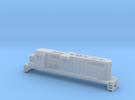 """Gp11 N 36"""" Fans (For Printed Handrails) in Frosted Ultra Detail"""