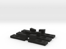 Mg1 Front Sight Set (3) in Black Strong & Flexible