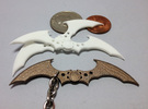 Arkham Asylum Batarang in White Strong & Flexible