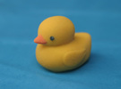 Yellow Duck in Full Color Sandstone