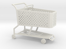 1:24 Shopping Cart in White Strong & Flexible