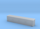 45' Hi Cube ISO Container (N Gauge 1:148) in Frosted Ultra Detail