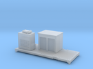 FEA-F Spine Wagon Mounted Sandite Module for N Gau in Frosted Ultra Detail