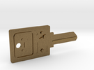 BMO House Key Blank - SC1/68 in Raw Bronze