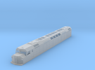 N Scale F40DDPH 'A' Unit w/Waffle Side Panels in Frosted Ultra Detail