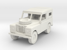 1/72 1:72 Scale Land Rover Soft Top Bonnet Wheel in White Strong & Flexible