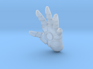 Iron Man / Warmachine Figurine Left Hand in Frosted Extreme Detail