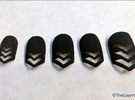 Chevron Nails (Size 2) in Black Strong & Flexible