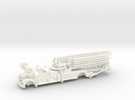 Seagrave 1951 1:87 in White Strong & Flexible Polished