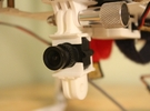 Fatshark 600tvl Camera Holder with GoPro Mount in White Strong & Flexible