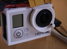 FO-OSD - Lens Ring Only for GoPro Hero3 in White Strong & Flexible
