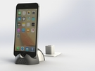 iPhone 6S/6S Plus Dock-Black in Full Color Sandstone