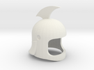 Helmet Grandizer V.39 in White Strong & Flexible