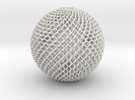 Diamond Sphere in White Strong & Flexible