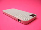 Somi for iPhone 5/5s, a case you can cross stitch  in White Strong & Flexible Polished