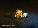 NOLA Claddagh, Ring Size 6.5 in White Strong & Flexible