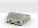 Nscale cottage with veranda in Transparent Acrylic
